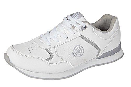 Dek Herren Bowling- & Kegelschuhe Weiß Weiß
