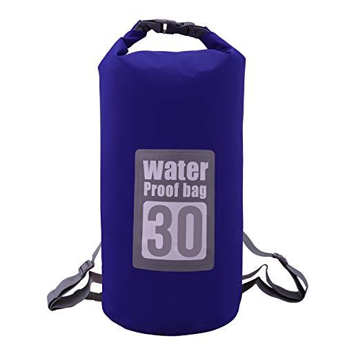 Molee Dry Bag,5L,10L,15L,20L,30L,Wasserdichte Tasche,Wasserdichter Packsack,Wasserdichte Beutel mit Wasserdichter Handybeutel,Für Ruder,Boot und Kajak,Rafting Angeln,Camping und Snowboarden