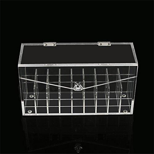 rangement acrylique transparent. Black Bedroom Furniture Sets. Home Design Ideas