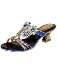 Il miglior regalo per donna e madre Per donna Scarpe Microfibra Estate Autunno Sandali Footing Piatto A stiletto Occhio di pernice…