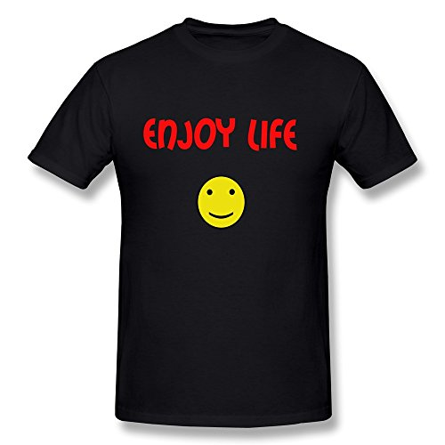 YungGoo T-shirt Herren T-Shirt Gr. Medium, Schwarz - Schwarz
