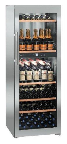 Liebherr WTpes 5972Vinidor freistehend Kombi-Wein Edelstahl 155bottle (S) A–Weinkühler...