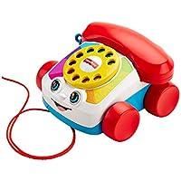 Fisher-Price Mon Telephone Mobile Jouet Bebe, cadran factice rotatif , pour Apprendre les Chiffres,12 Mois et Plus, FGW66, Multicolore