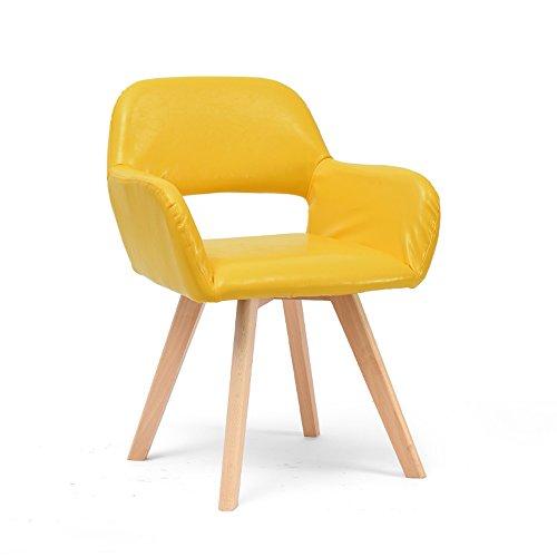 Stool Chaise d'ordinateur Moderne Simple/Nordique Dossier Bureaux et chaises Salle à Manger Chaise/Chaise en Bois Massif 42 * 40 * 79cm (Couleur : B1)