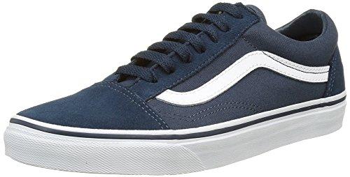vans-unisex-adults-old-skool-low-top-sneakers-blue-suede-canvas-9-uk