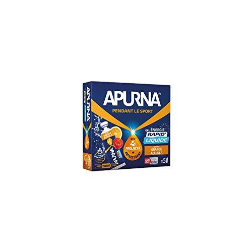APURNA Gel Energie LIQUIDE Orange/Acerola - Etui 5x35g