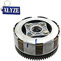 XLYZE Conjunto de embrague Z190 para Zongshen 2V 190cc ZS1P62YML-2 Motor Pit Dirt Bike