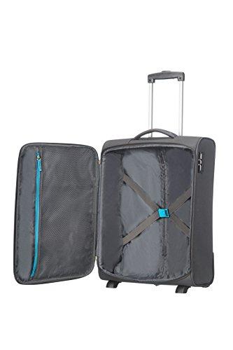 American Tourister 75506/1099 - Funshine upright 2 ruedas 55/20 equipaje de mano, gris (sparkling graphite), 55 cm, 39 L