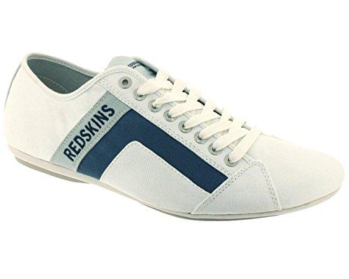 Redskins - Basse Uomo , Bianco (Gris jeans 585),