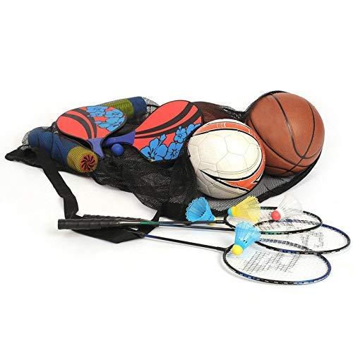 Alaojie Drawstring Mesh Bag Large Capacity Multipurpose Storage Bag for Basketball Volleyball -