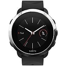 Suunto - Fitness 3 - SS050018000 - Reloj Multisport con GPS y pulsómetro incorporado - Negro/Plateado - Talla Única
