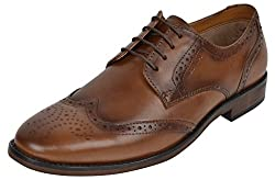 Red Tape Mens Tan Leather Formal Shoes - 11 UK/India (45 EU)