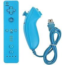 Trofou®--Coloré Built-in Accelerator Accélérateur Télécommande Construit en Motion Plus et le Nunchuck pour Nintendo Wii