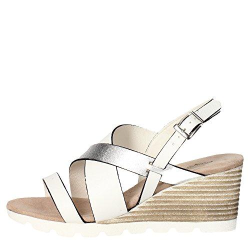 Pregunta PQ547820R Sandalo Donna Bianco