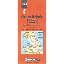 Michelin Karten, Bl.502 : Northern England, Midlands (Michelin Maps)