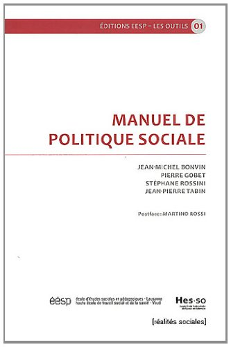Manuel de politique sociale