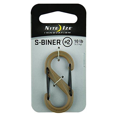 Nite Ize S-Biner, SBP2-03-28BG (Bag Wader)