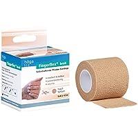 Höga Fingerflex breit, hautfarben, 5 cm x 4.5 m gedehnt, Selbsthaftende Pflaster Bandage, elastisch & reißbar,... preisvergleich bei billige-tabletten.eu
