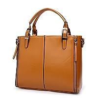حقيبة كبيرة توتس لون بني للنساء