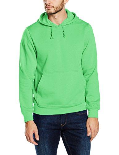 Clique Herren Kapuzenpullover Basic Green (apple Green)