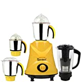 Sunmeet 1000 Watts Mixer Juicer Grinder with 4 Jar (1 Juicer Jar,1 Medium Jar,1 Large Jar and 1 Chuntey Jar) Direct Factory Outlet, Save On Retailer margin.