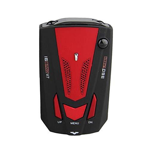 MISHER 1Tlg.Auto Radarwarner Auto Geschwindigkeit Test System LED-anzeige 360 Grad Sprachsteuerung Besten Anti Radar Anti Radar Geschwindigkeitsdetektor
