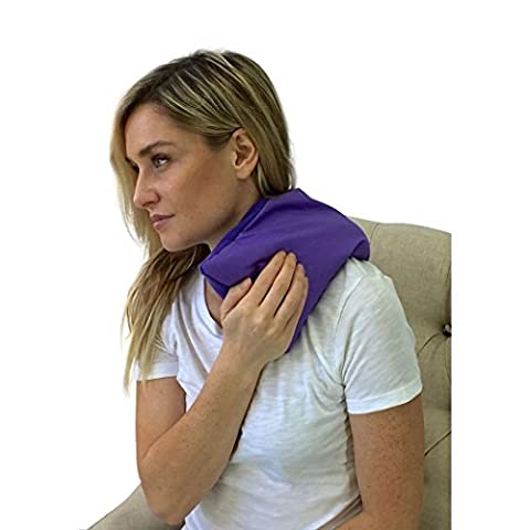 Ma Poche Chauffante- Compresse Thérapie Thermique – Thérapie Thermique Apaisante – Soulagement de la Douleur (Violet)