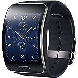 "Samsung Gear S - SmartWatch Android (pantalla 2"", 4 GB, 512 MB RAM, WiFi, Bluetooth, USB), negro"