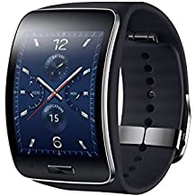 "Samsung Gear S - SmartWatch Android (pantalla 2"", 4 GB, 512 MB RAM, WiFi, Bluetooth, USB), negro"
