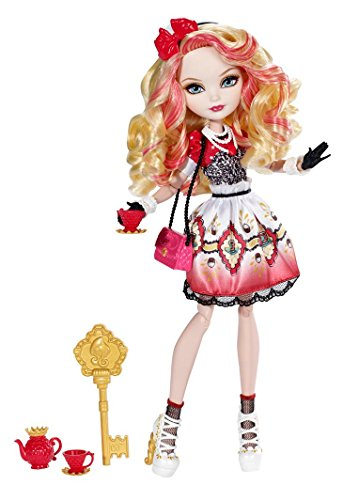 Mattel Ever After High BJH34 - Tee-tastische Party, Apple White, Puppe
