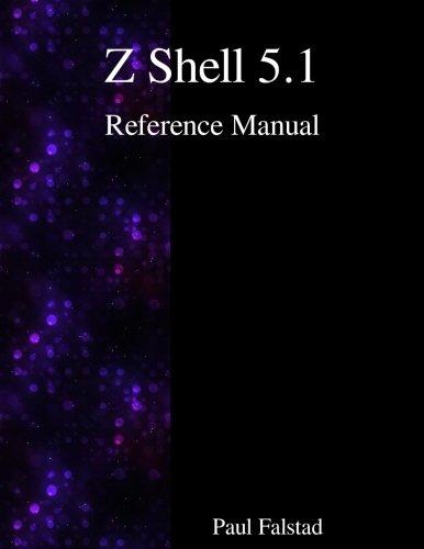 Z Shell 5.1 Reference Manual por Paul Falstad