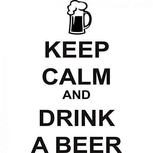 Haochenli188 Mantener Calma Tener Cerveza Citas Tatuajes