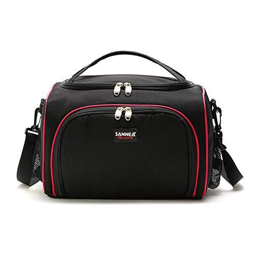 Isolierte Lunch Bag Portable Picknick-Boxen KüHltasche Travel Organizer Wasserdicht,red