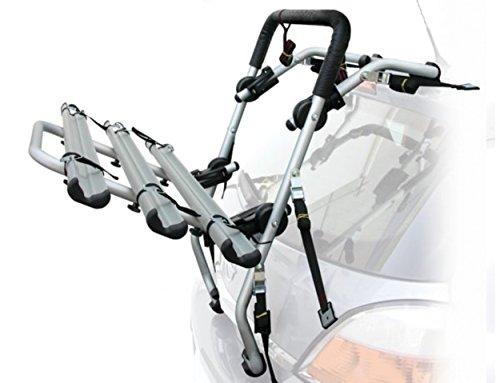 Peruzzo Portaciclo auto modello padova in alluminio per 3 bici