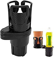 Car Cup Holder Universal Car Cup Holder Expander with 360° Rotating Adjustable Base, 2-in-1 Holder, Insert Car