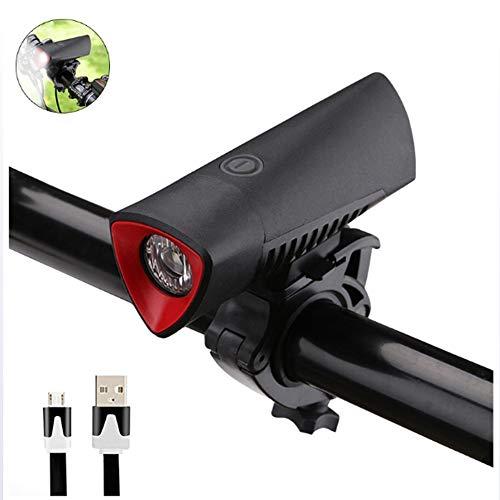Fahrradlicht LED Outdoor USB-Aufladung Blendung Regen im Freien Reiten Mountainbike Scheinwerfer Reitausrüstung Lithium-Batterie Taschenlampe Sicherheit Taschenlampe Scheinwerfer Scheinwerfer