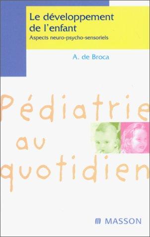Développement neuro-psycho-sensoriel de l'enfant