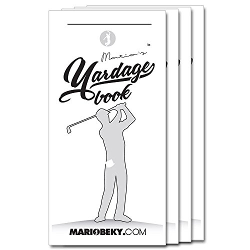 Mario's Yardage Book 4 Pack par Mario Beky