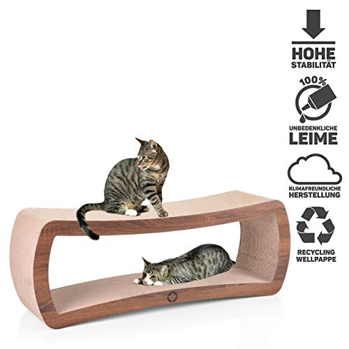 CanadianCat Company ® | Cat's Grove XXL Kratzmöbel, Kratzbrett aus Wellpappe - 2