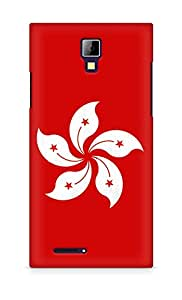 Amez designer printed 3d premium high quality back case cover for Micromax Canvas Express A99 (Hong kong Iphone)