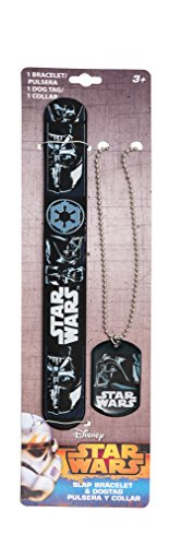 Star Wars Episode Vii Collana E Braccialetto Darth Fener Vader