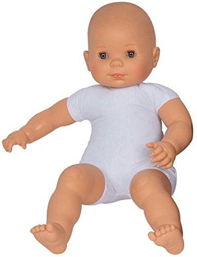 Puppe mit weichem Körper aus Stoff, Europäisches Aussehen, Höhe: 60cm -