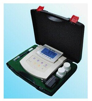 Gowe PH-Messgerät conductometer Leitfähigkeit Meter PH, MV, Temp, EC, CF, TDS, Bench PH/ORP/EC/CF TDS/Temp Meter kl-2603Bereich: PH: 0,00~ 14.00 (Bereich Leitfähigkeit Meter)