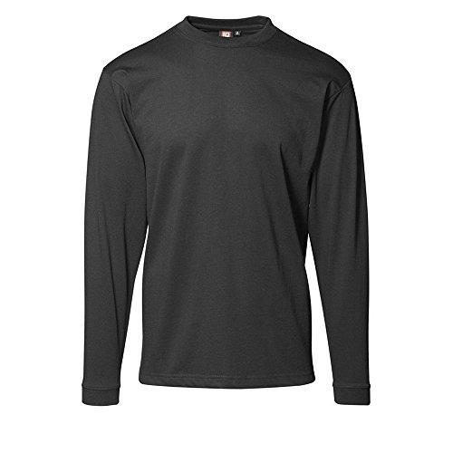 ID Herren Langarm T-Shirt Navy
