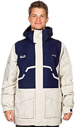 Giacca Snowboard da uomo analogico Manda Lore Jacket, cement moon moon moon blu, LB008X1VUT8Parent | Elevata Sicurezza  | Acquisti online  | Beautiful  | Bella E Affascinante  b9e05b