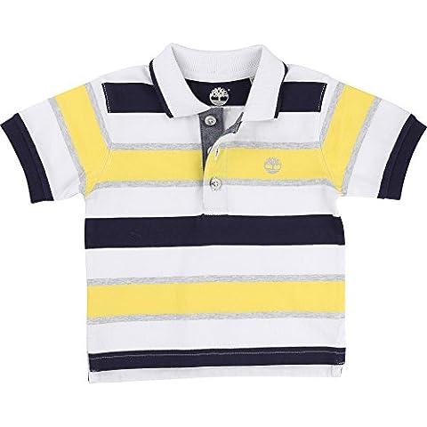 Timberland - Polo - Rayures - Bébé (garçon) 0 à 24 mois jaune citron - jaune - 3 ans