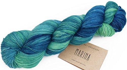 Manos del Uruguay Marina Fb. N0044 - Atlantis, 100g Lace Merino Wolle handgefärbt mit wunderschönem Farbverlauf -
