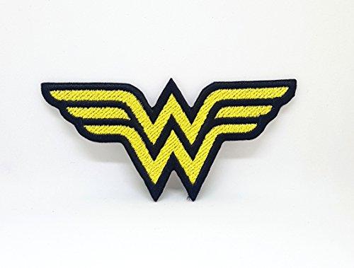 DC Comics Wonder Woman Eisen nähen auf Patch Halloween bestickt