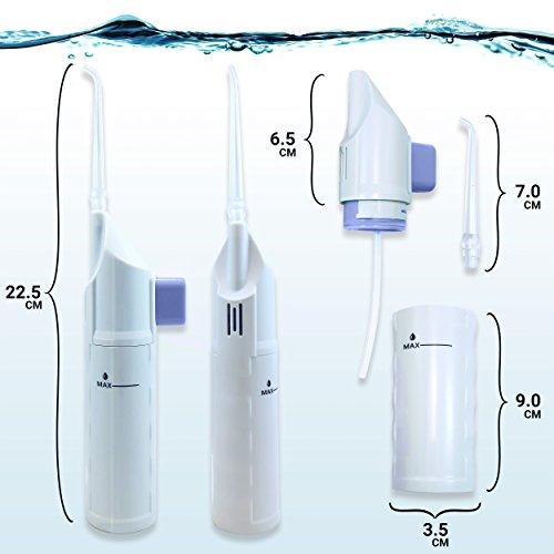 Munddusche, Mechanische Wasserdusche   Ohne Stromquelle - 2