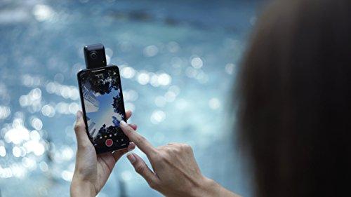 insta360 Nano-s cámara para iPhone X/iPhone 8/7/6 Negro